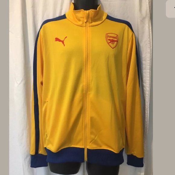 Puma Arsenal FC T7 Jacket Large NWT